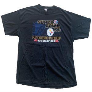 2005 NFL Super Bowl XL Pittsburgh Steelers Tee